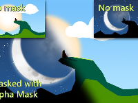 Alpha Mask: UI, Sprites, Quads [20$]
